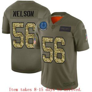Indianapolis Colts Quenton Nelson Jersey Camo